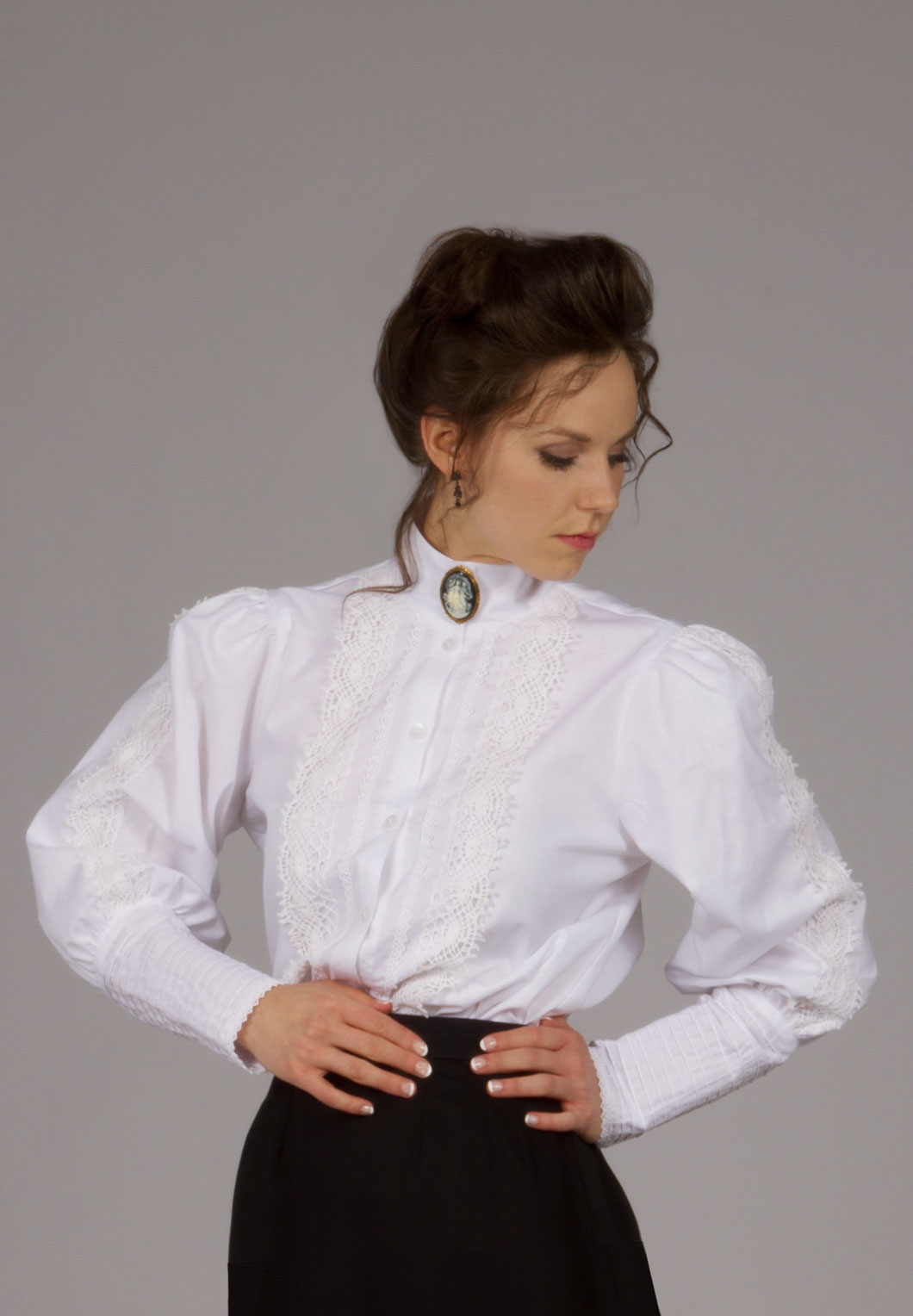 Classic Victorian Blouse Size XL