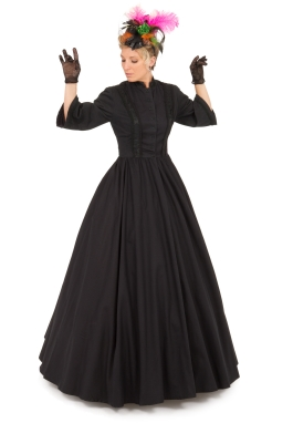 Helena Civil War Styled Gown