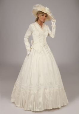 Civil War Victorian Styled Gown