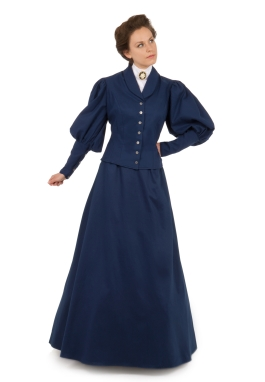 Victorian Twill Suit