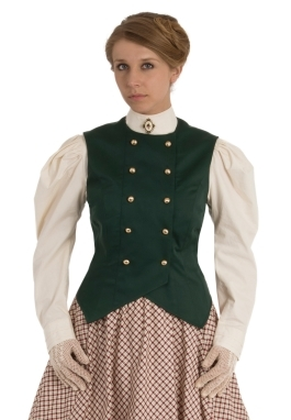 Double-Breasted Victorian Vest