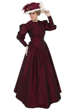 Victorian Taffeta Gown