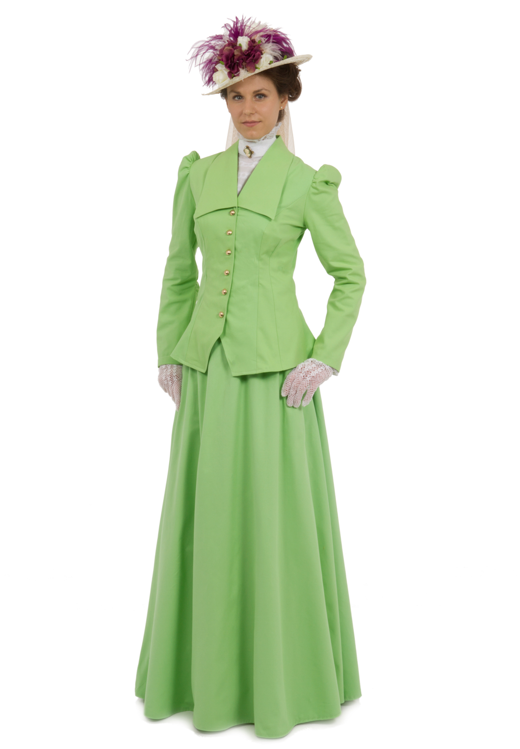 Fern Edwardian Suit