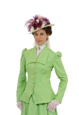 Fern Edwardian Jacket