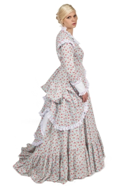 Marcella Victorian Polonaise Dress