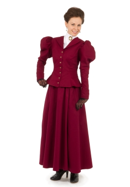 Old West Victorian  Jacket and Skirt