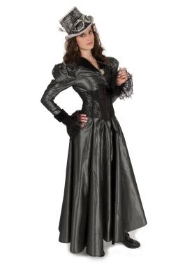 Steampunk Taffeta Victorian Dress