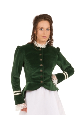 Iris Victorian Velvet Jacket