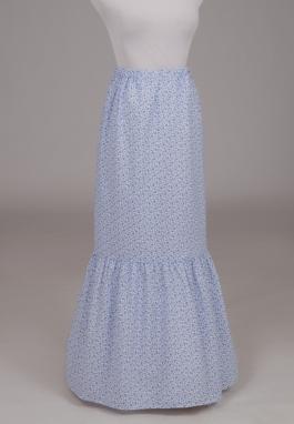 Lilly Victorian Flounced Print Skirt