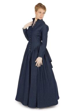 Retta Victorian Denim Dress
