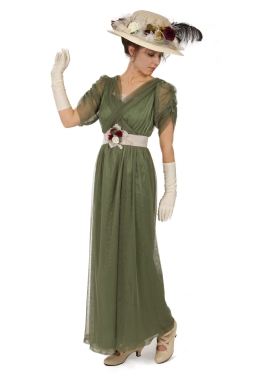 Simonne Edwardian Downton Abbey Styled Dress
