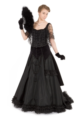 Countess Lucia Victorian Bustle Dress