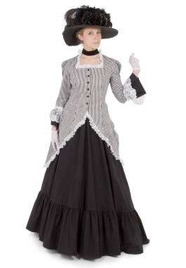 Madison Victorian Polonaise Dress