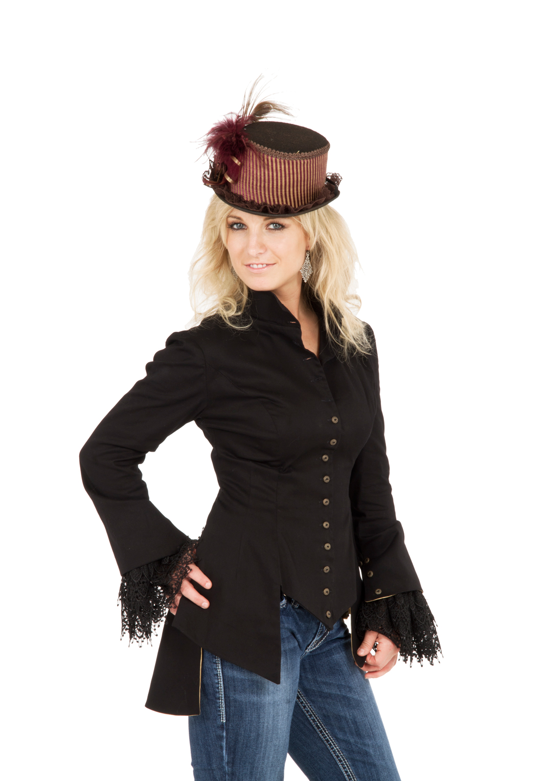 Victorian Steampunk Arabesque Jacket