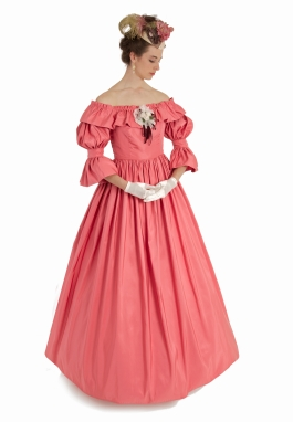 Peony Civil War Styled Gown