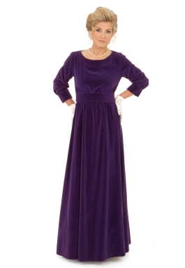 Glynn Velvet Edwardian Dress