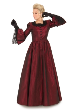 Karenina Victorian Taffeta Gown