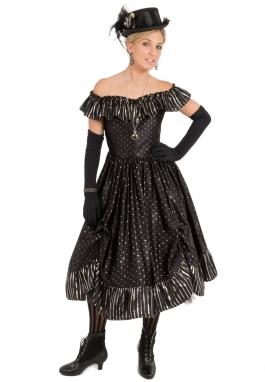 Sassafras Old West Saloon Dress