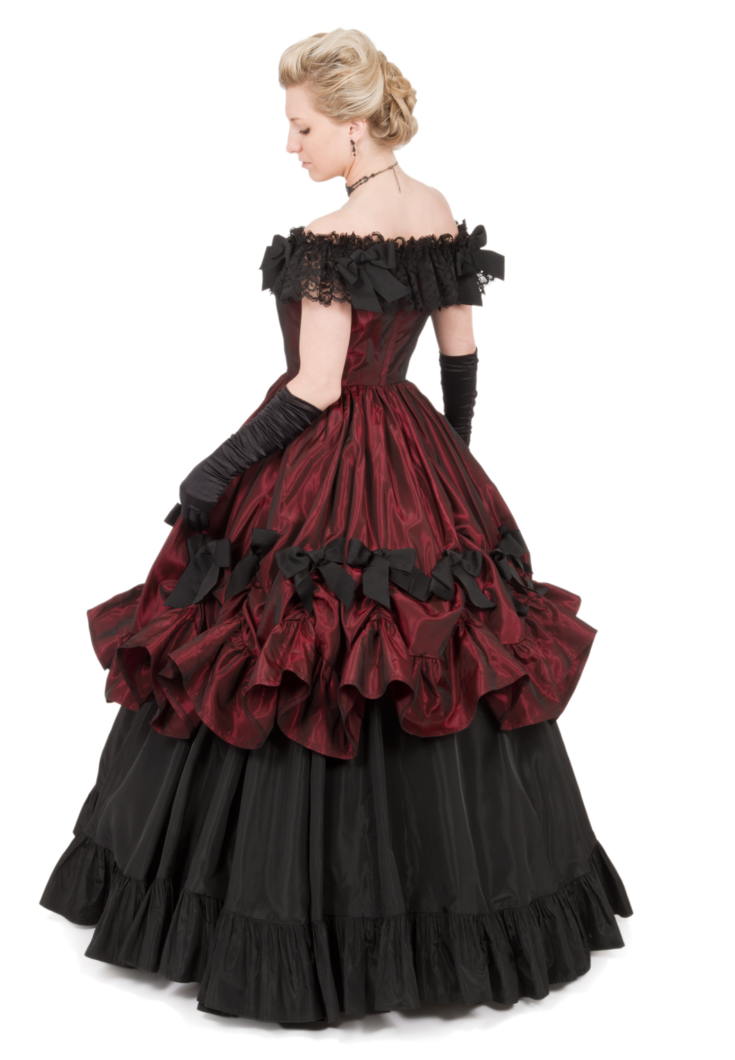 The gallery for victorian style evening gowns for Victorian style