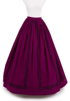 Mallory Civil War Skirt