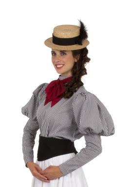 Victorian Gibson Girl Blouse