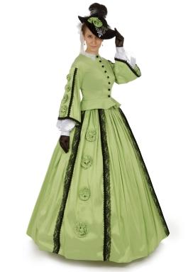 Margaret Civil War Victorian Styled Gown