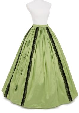Margaret Civil War Styled Skirt