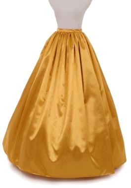 Valentina Civil War Styled Satin Skirt