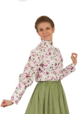Hannah Victorian Style Blouse