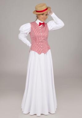 Gibson Girl Vest, Blouse, and Skirt Set