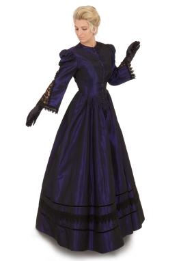 Victorian Taffeta Dress