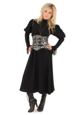 Steampunk Dress and Cincher