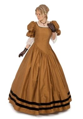 Louisa Silk Victorian Gown
