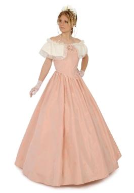 Savannah Silk Victorian Gown