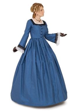 Fidelia Silk Victorian Gown