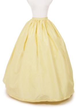 Lenora Silk Stripe Civil War Skirt