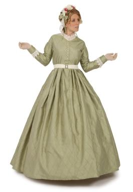 Selina Silk Victorian Dress