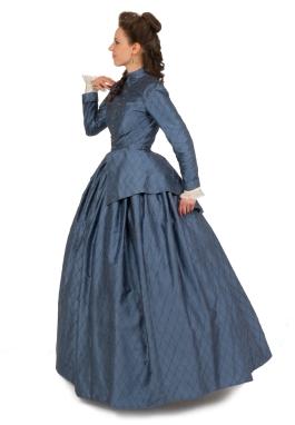 Silk Civil War Victorian Styled Suit