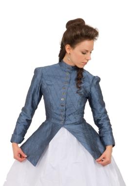 Civil War Styled Silk Jacket