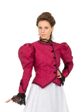 Victorian Silk Jacket