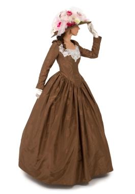 Silk Victorian Dress