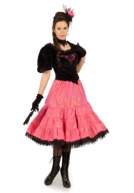 Old West Victorian Saloon Dress
