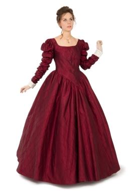 Victoria Silk Gown