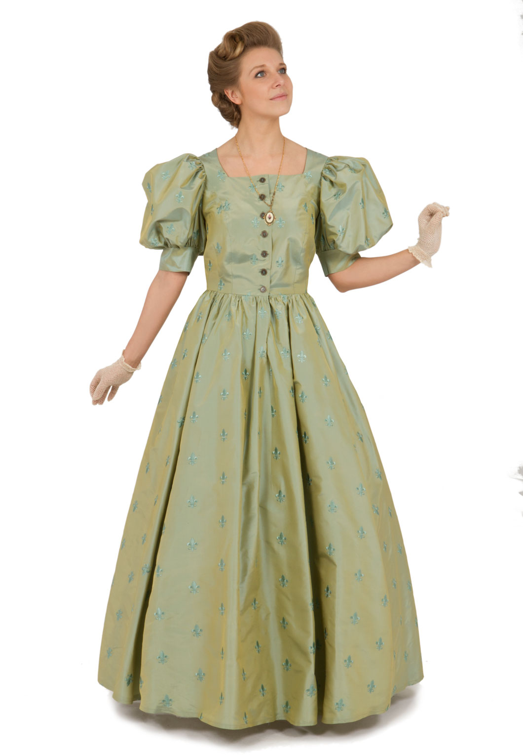 Victorian Style Silk Dress | Recollections
