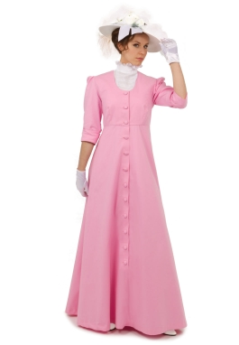 Edwardian Twill Dress and Chemisette