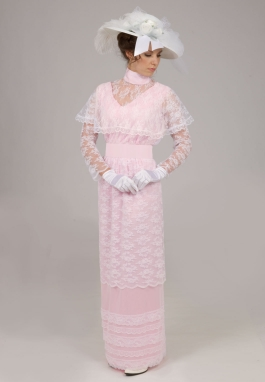 Lace Edwardian Dress