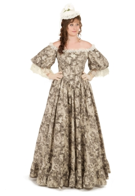 Victorian Style Ball Gown