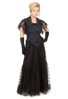 Black Lacy Turn of the Century Ensemble