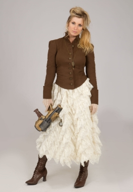 Steampunk Jacket and Lace Skirt