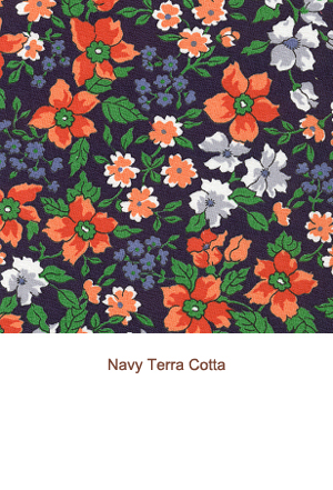Navy Terra Cotta